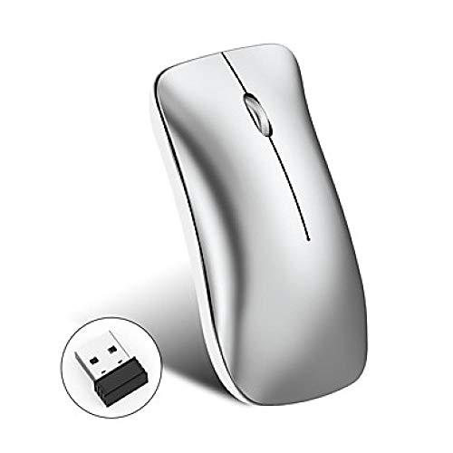 USB 2.4G Ergonom/ía 2400 dpi con Whispering Key Inal/ámbrico para PC Computadora Port/átil Smart TV Mac iMac Windows Negro nobrand Teclado Mouse Inal/ámbrico