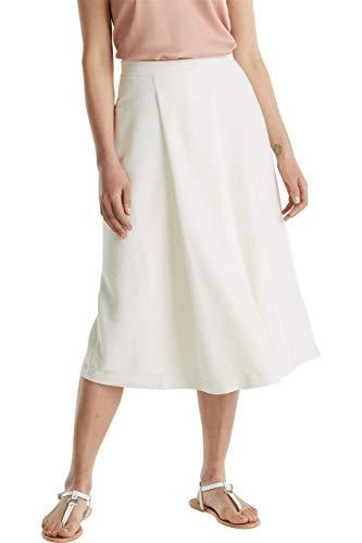 ESPRIT Collection Damen 040EO1D301 Rock, Off White (110), S
