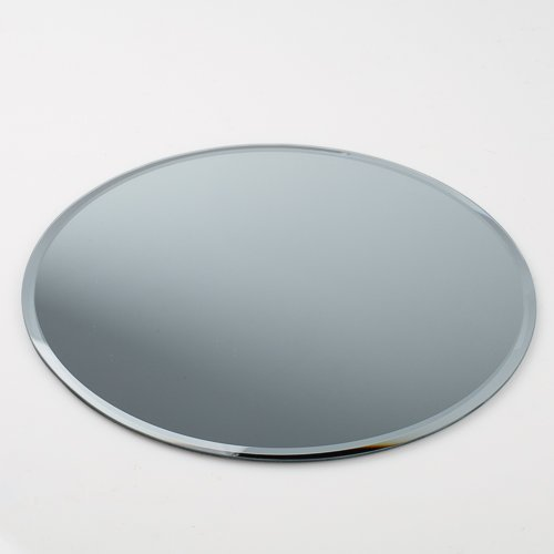 "Eastland 16"" Round Beveled Centerpiece Table Mirror"