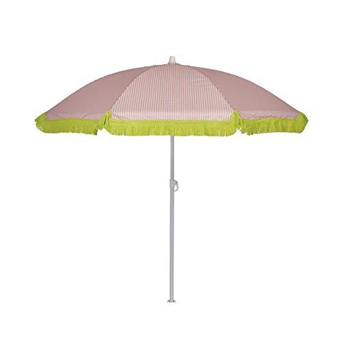 EZPELETA Sombrilla de Playa. Parasol de Playa. Ligero y Plegable de Acero....