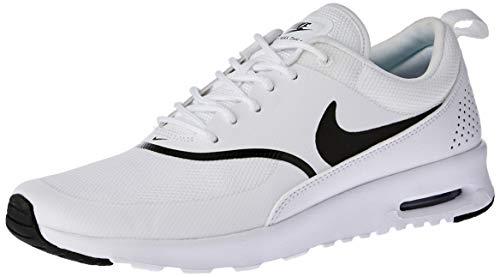 Nike Air Max Thea, Baskets Femme, Blanc (WhiteBlack 108), 38 EU