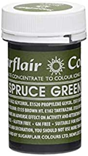 Sugarflair Spectral Paste Edible Food Colouring Colour Icing 25G - Spruce Green