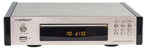 Madison - MAD-CD10 - Lector de CD, con tuner FM
