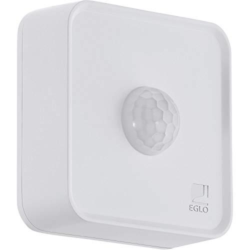 Eglo Connect Capteur de Mouvement Smart Home à Piles Pour Système de Connexion Eglo Eglo, Matériau : Plastique, Couleur : Blanc, Ip44