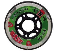 Bauer BASE Inliner Inline-Skates Rolle Rollen Outdoor Hockey Rage 72 mm 82A 4er-Set