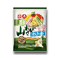 藤原製麺 二夜干しラーメン山わさび冷しラーメン115g 1ケース(10袋入)