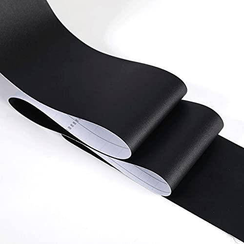 ASNHJH Bordure De Papier Peint en Marbre PVC 16.4FT Décalcomanie Murale Auto-adhésive pour Plinthes Autocollant De Ligne De Taille Imperméable pour Salon Cuisine (Color : E, Taille : 20CMX500CM)