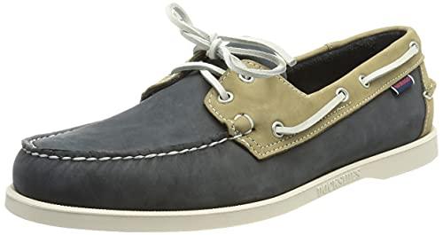 Sebago Portland Spinnaker Nubuck, Men's 7001SE0 Boat Shoes Multicolour (Navy-Grey N23) 11.5 UK, 46.5 EU