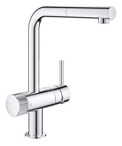 Grohe Blue Pure Minta 31721000 Single-Lever Sink Mixer Tap with Filter Function Chrome