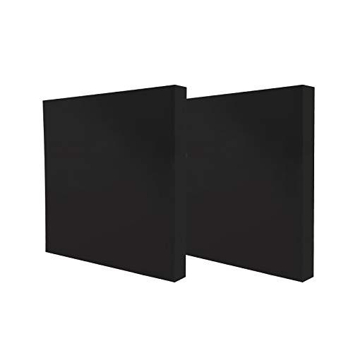 YORKING 2 Stück Zielscheibe 60x60 bis 40 lbs mit Auflage und Scheibennägeln