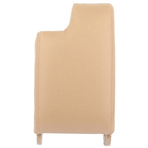 TUPARTS Beige Center Console Armrest Lid Replacement Kit fit for 1999-2004 For BMW E46 3 Series