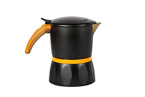 Mamy Mokka espresso koffiemachine 4 kopjes voor magnetron espressomachine