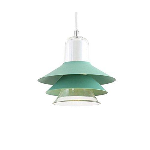 5151BuyWorld lampenkap van glas, modern, rood, hanglamp, lichtgroen, voor eetkamer, bar, restaurant, slaapkamer, hanglamp, hoogwaardige kwaliteit