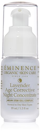 Eminence Lavender Age Corrective Night Concentrate, Normal To Dry Skin, Especially Mature, 1.2 Ounce