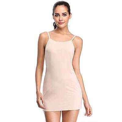 Full Slips for Under Dresses Slip Shapewear for Women Tummy Control Body Shaping Control Slip (Beige(Smoothing Slip), 2XL-3XL) from