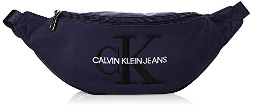 Calvin Klein Ckj Monogram Nylon Street Pack - Borse a spalla Uomo, Blu (Navy), 0.1x0.1x0.1 cm (W x H L)