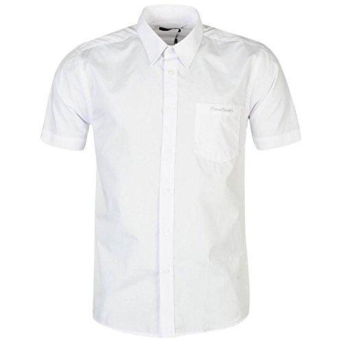 Pierre Cardin - Chemise manches courtes Homme - Blanc - XXL