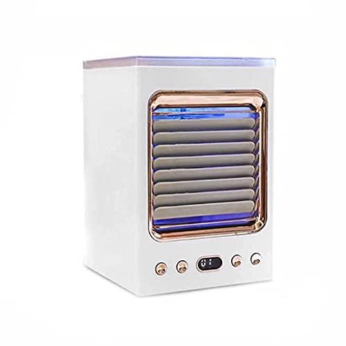 ZHZHUANG Condizionatore Portatile Aria Condizionata Multi-Funzione Umidificatore Desktop Air Cooler per Ufficio a Casa