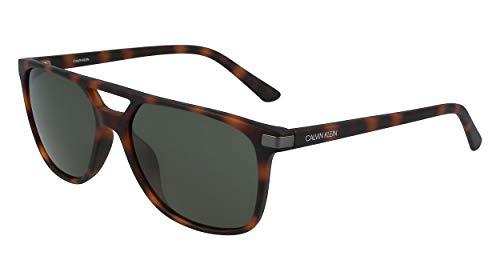 Calvin Klein EYEWEAR CK19526S gafas de sol, TORT/STGLD, 5816 para Hombre
