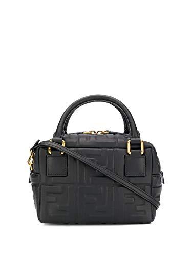 Luxury Fashion | Fendi Dames 8BS028A72VF15ZW Zwart Leer Handtassen | Lente-zomer 20