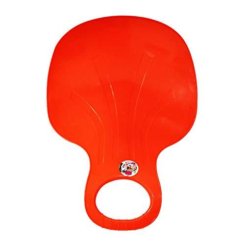 Schlitten Bob für Kinder zum Porutschen & Schlittenfahren Schneeflitzer zum Rodeln Schneerutscher für die ganze Familie - Schlitten (G)