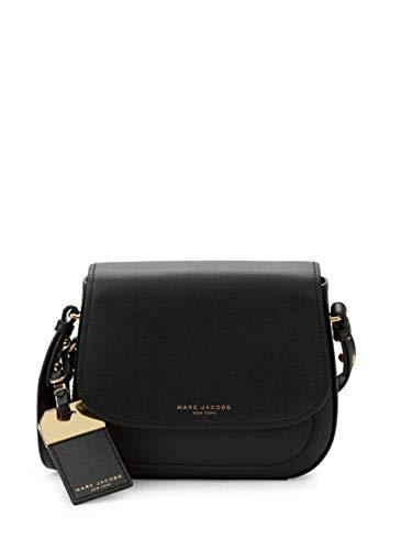 Marc Jacobs Rider Leather Crossbody Bag (Black)