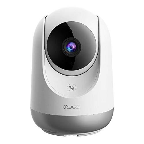 ErLaLa Cámaras de vigilancia Visión Nocturna,detección de Sonido y Movimiento,2 Canales de Audio