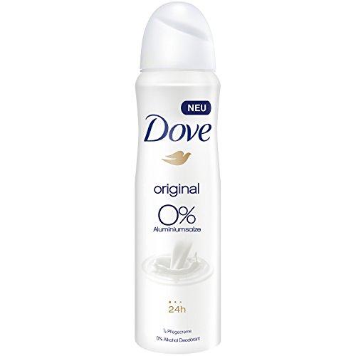 Deodorante spray Dove Original senza alluminio, confezione da 6 (6x 150ml)