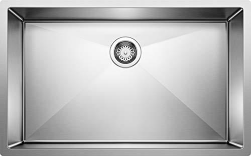 Big Sale Best Cheap Deals Blanco 515823 16-Inch Precision R10 Super Single Bowl Undermount Sink, Stainless Steel