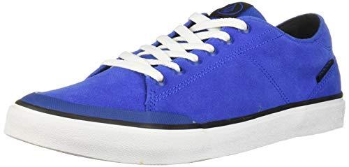 Volcom Leeds Chaussures de Skate pour Homme en Daim Vulcanized - Bleu - Bold Blue, 41 EU