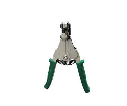 GENFALIN Adecuado for la reparación local, es decir, al aire libre de mantenimiento de 6 pulgadas verde de múltiples funciones eléctrico de tracción por cable automático Juego de alicates, (color: ros