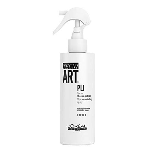 L'Oréal Professionnel TecniART Pli, Thermo-modelling spray Thermospray, Haltegrad 4, 190 ml
