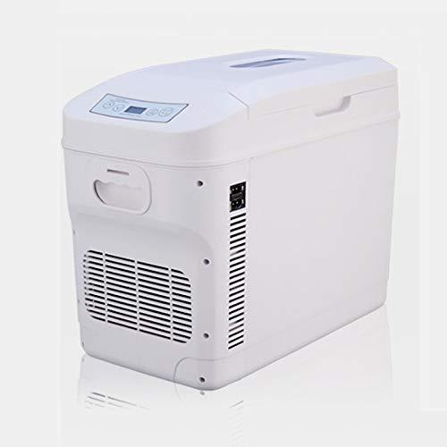 GAOXIAOMEI Mini Refrigerador, 28 litros Refrigerante Más Cálido Refrigerador Compacto con Energía AC/CC, Nevera Portátil para Cuidado De La Piel, Alimentos, Medicamentos, Leche Materna, Hogar Y Viaje