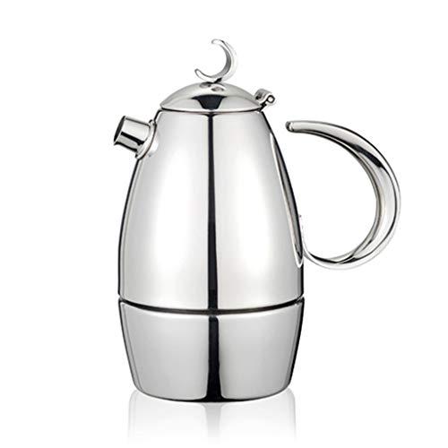 Lowest Price! Steam Espresso Machines Moka Pot Coffee Maker Espresso Maker Stovetop Coffee Makers Mo...