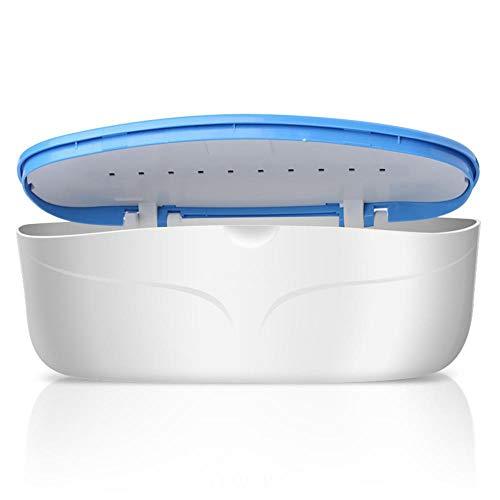 Podofo Caja de esterilización UV, Dispositivo de desinfección LED para uñas, Herramienta de limpieza de caja de esterilizador de luz ultravioleta para herramientas de maquillaje, Juego de manicura