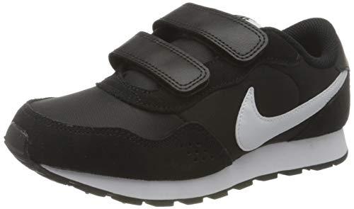 Nike MD Valiant (PSV) Sneaker, Black/White, 34 EU