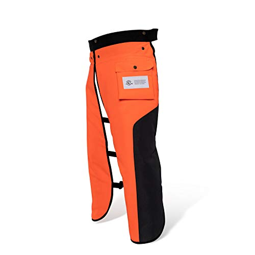 Chainsaw Chaps Apron Wrap 8-layer for Men/Women Loggers Forest Workers Protective Chain Saw Pants Adjustable