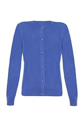 Lona Scott - Juego de Cama para Mujer (Cachemira) Azul Azul eléctrico...