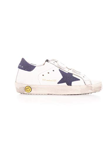 Golden Goose Luxury Fashion Ragazzo G36KS021G6 Blu Pelle Sneakers | Primavera-Estate 20