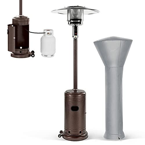 PAMAPIC Patio Heater, 46000 BTU Commercial Propane...