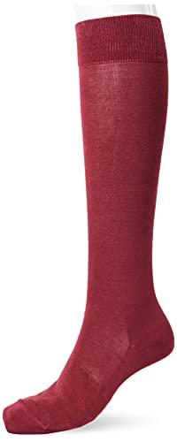 Falke Tiago, Chaussettes Longues Homme, Coton, Pourpre (Plum Pie 8407), 45-46 (UK 10-11 Ι US 11-12), 1 Paire
