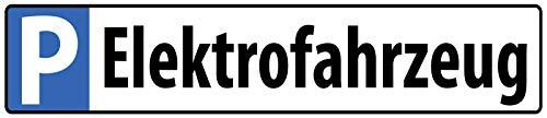 Nwfs Cartel de Estacionamiento Vehículo Eléctrico Letrero de Metal Placa de Metal...