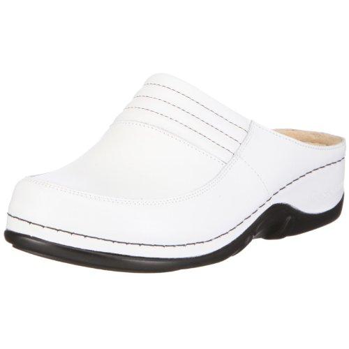 Berkemann Damen Victoria Clogs, Weiß (weiß 101), 40 EU