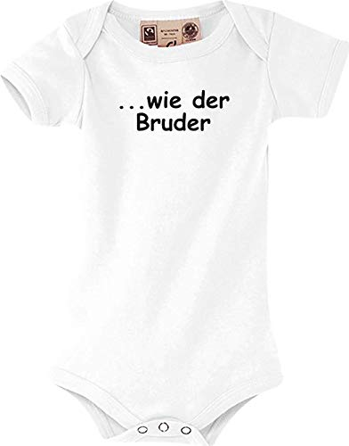 Shirtstown Bébé Body. comme Le Bruder, Culte - Blanc, 12-18 Monate