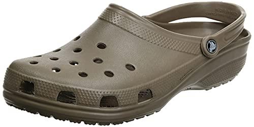 Crocs Unisex Classic Pantoffeln, Khaki, 42/43 EU