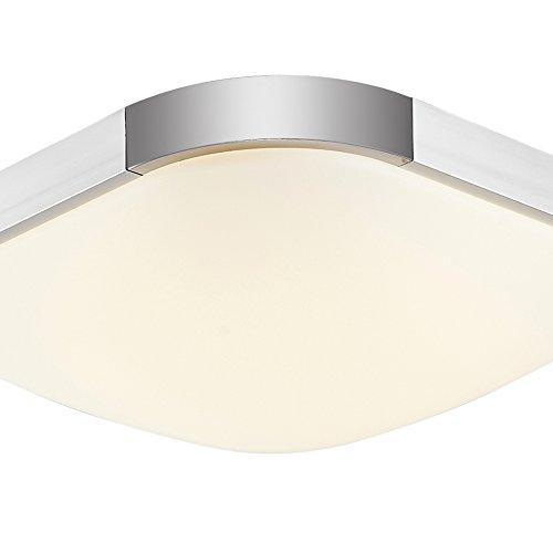 16W 36W 48W 64W 96W Espesamiento LED Moderno Lámpara De Techo Lámpara De Techo Pasillo Salón Cocina Dormitorio De La Lámpara Ahorro De Energía De Luz (16, Blanco cálido)