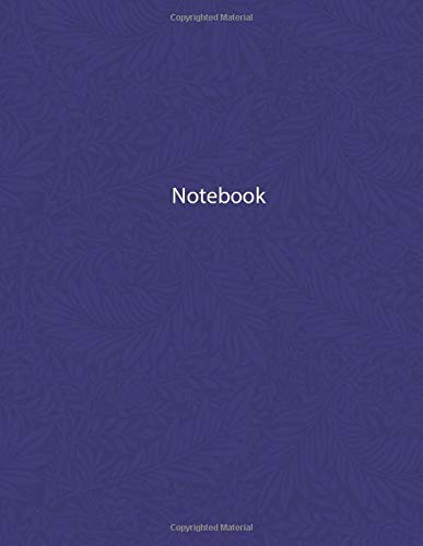 NOTEBOOK: whitelines 1 subject school notebook 120 pages,soft cover,  8.5 × 11 in (lined journal,lined notebook,primary notebook,lined notebook paper)