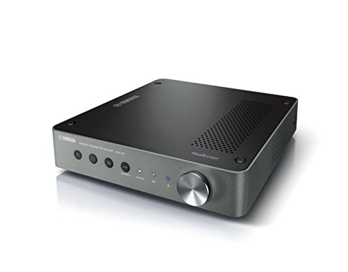 Yamaha MusicCast WXC-50 Preamplificatore audio wireless, ideale per la diffusione sonora di musica in streaming – Multiroom, WiFi, Bluetooth 2.1, Airplay, Design retrò moderno, Argento scuro