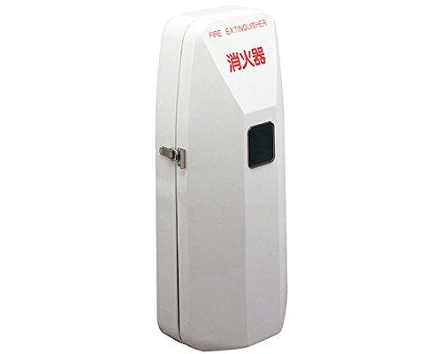 新協和 消火器ボックス 壁付型 SK-FEB-92 グレー