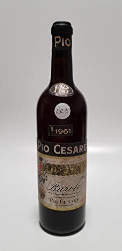 Vintage Bottle - Pio Cesare Barolo Clear Color 1961 0,72 lt. - COD. 1029